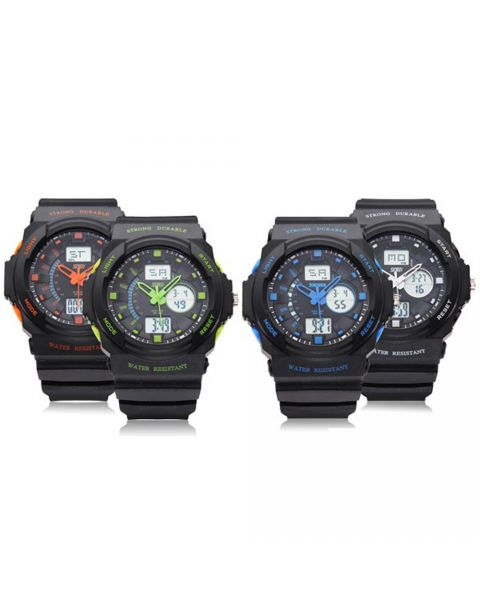 Skmei Men Sport Digital Watch Military Outdoor Quartz Wristwatch 50M Waterproof