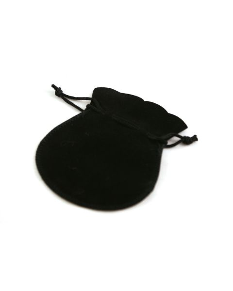 100 x Velvet Drawstring Pouches - Colour & Size Choice