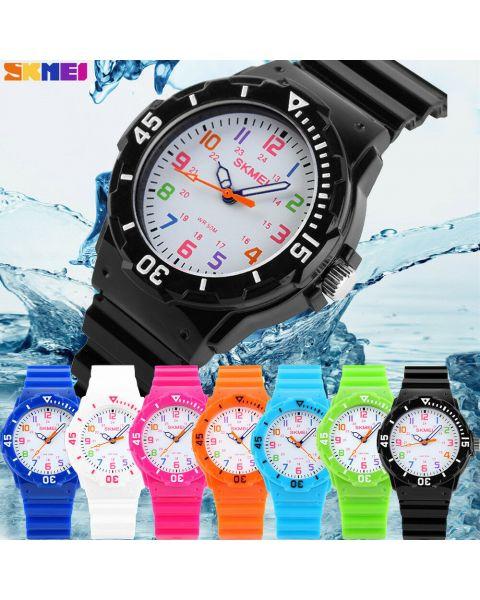 SKMEI Kids Children Colourful Casual Quartz Waterproof 5ATM Wristwatches