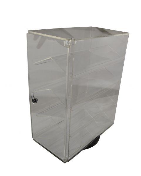 Acrylic Revolving Showcase Lockable Cabinet - (BD1106)
