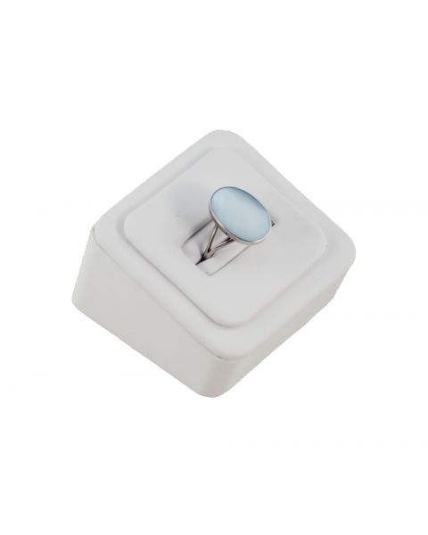 1 Slot Leatherette Ring Display Stand