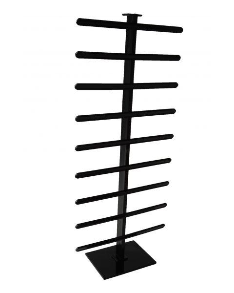 Black Earring Hanging Card Display Stand - BD1411BK (49cm high)