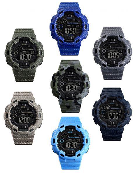SKMEI Luxury Sport Watch Men Alarm 50m Waterproof Digital Watches