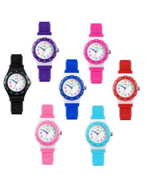 SKMEI Children Sports Watch Boys Girls 50m Waterproof Quartz Analogue Wristwatch