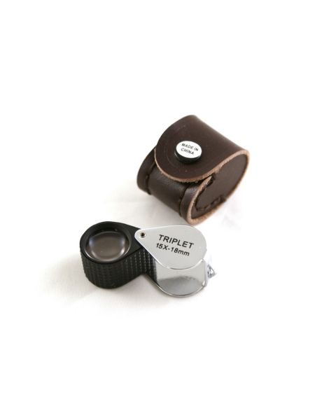 15x Magnification Eye Loupe with Case (BDLO19-15)