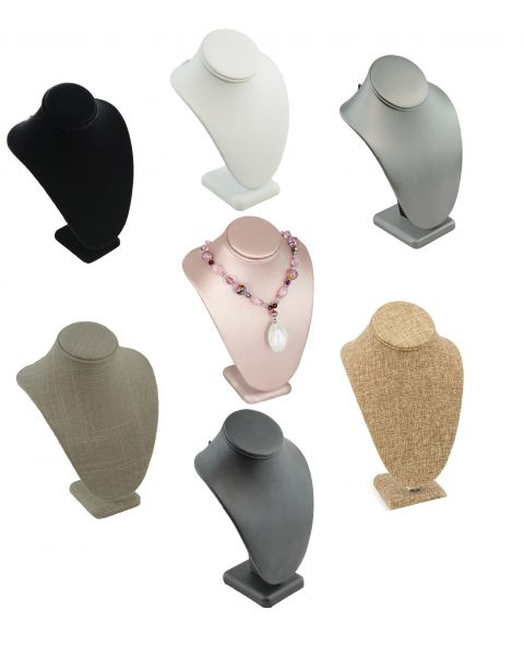 Standard Necklace Display Busts - Size & Colour Choice