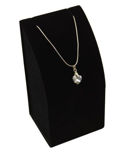 Black Velvet Pendant Drop Earring Display Stands - BDND1992V-BK