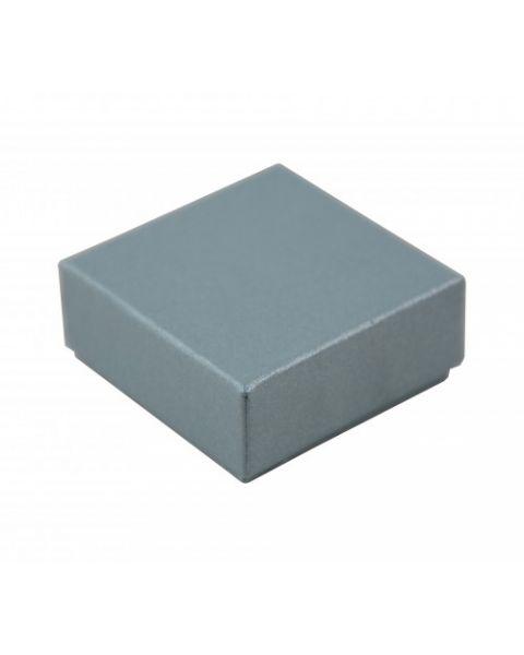 100 x Multi Purpose Plain Charm Earring Box Size 1