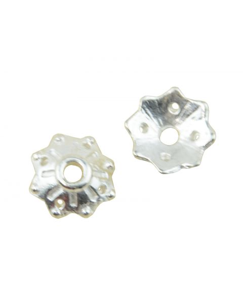 Pack of 25 Bead Caps 10mm (2-10)