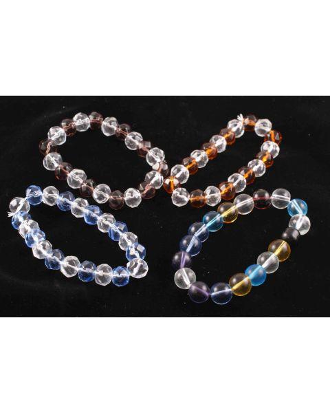 20pcs Crystal Duo Rhondelle Beads (45564-242)