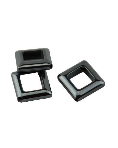 Pack of 8 Hematite 14mm Diamond Shape Beads (37887-110) from 50p
