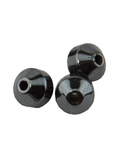 Pack of 45 Hematite 4mm Bicone Beads (37887-121) from 50p