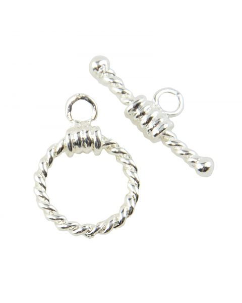 4 pcs Twisted Rope Toggles - 45564-136