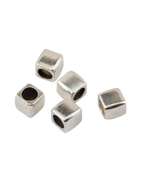 20 pcs Square Metal Spacer 6mm - 45564-28