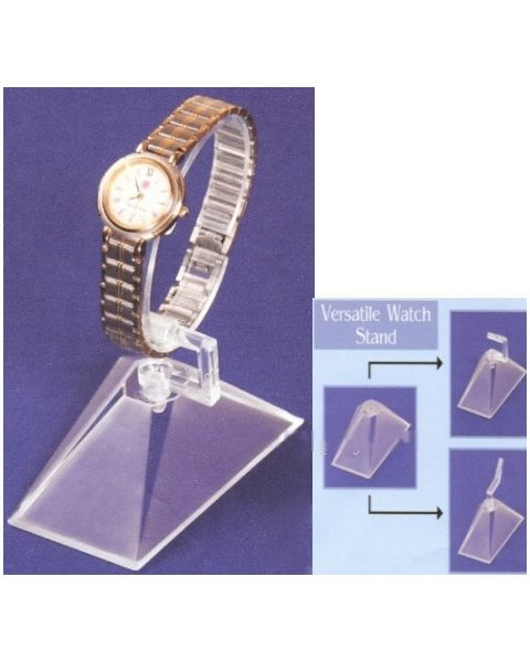 5 x Clear Acrylic Watch Holders (BD1501CL)