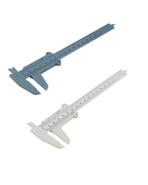 Plastic Vernier Caliper - Suitable for Gem stones / Bead measuring