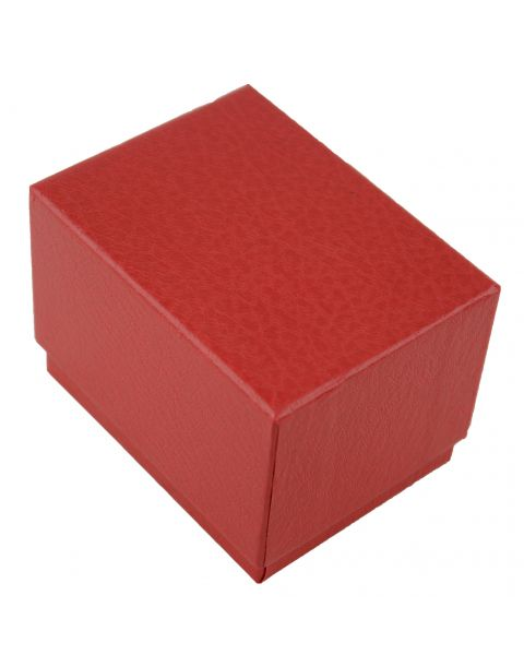Pack of 20 Two Piece Red Textured Card Watch / Bangle Pillow Box
