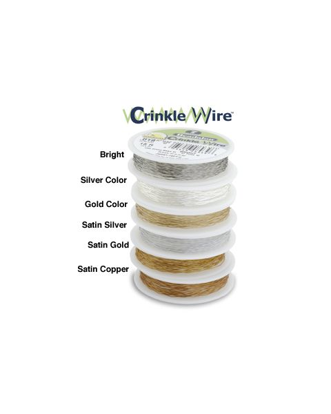 7 Strand Crinkle Wire .015 Inch Colour Choice 15ft