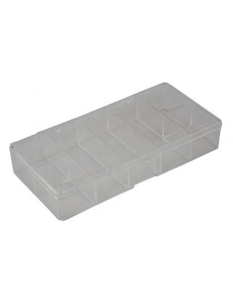 Clear Plastic 7 Compartment Organiser - BD821 - £1 each