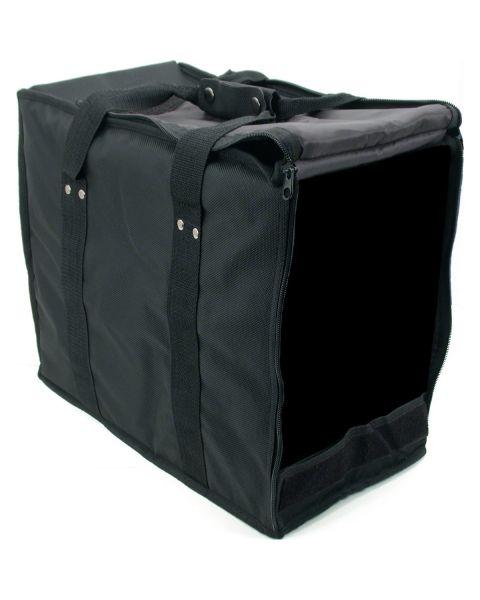 Soft Black Vinyl Carring Case - No Trays - BD91-B2