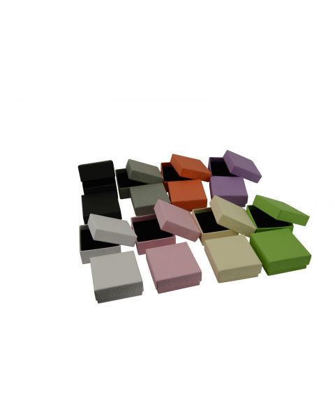 Vibrant Series Earring Box  - from 49p each - (ET-1)