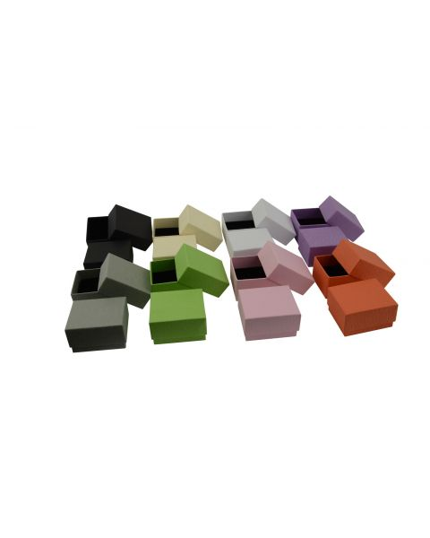 Vibrant Series Ring Box - from 49p each - (ET-2)