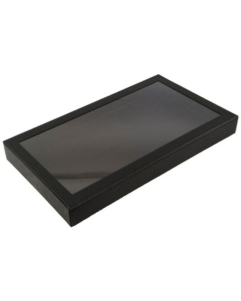 Full Size Display Tray Case with Detachable Magnetic Lid - BD83-2F - from £11.45 each