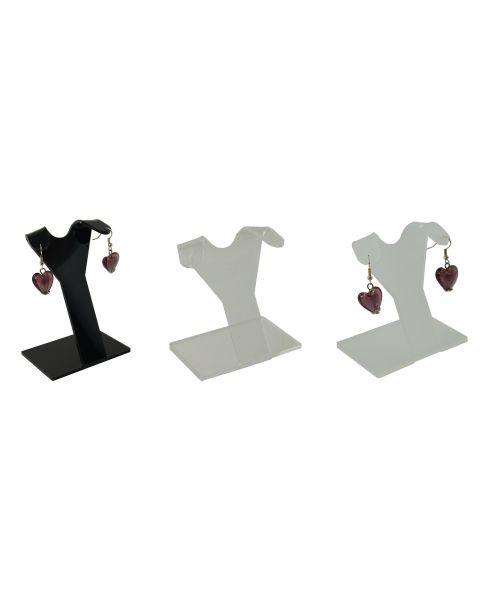 Acrylic 2 Notch Professional Earring Stand (A1512)