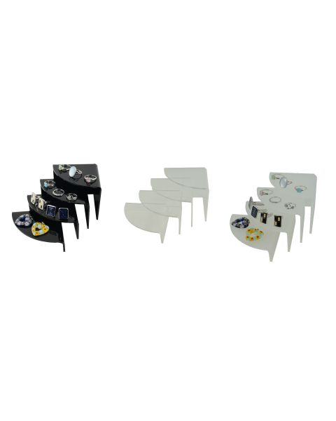 Acrylic Riser Cufflinks Rings Pendants Display Stand Medium (A56-52)