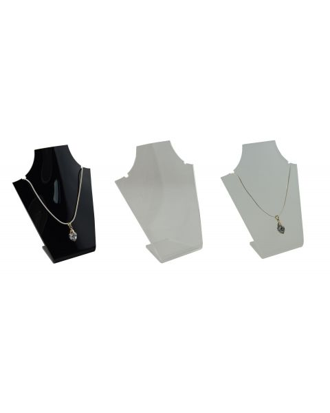 Acrylic Bust 2 Notch Necklace Display Stand (A950)