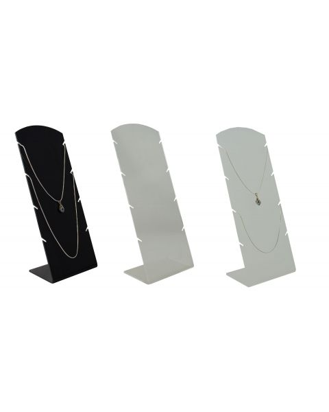 Acrylic Multi Notch Necklace / Chain Board (A955)
