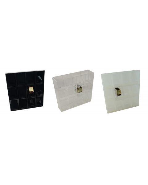 Acrylic Watch Tray 12 Acrylic Display Stand (A56-72)