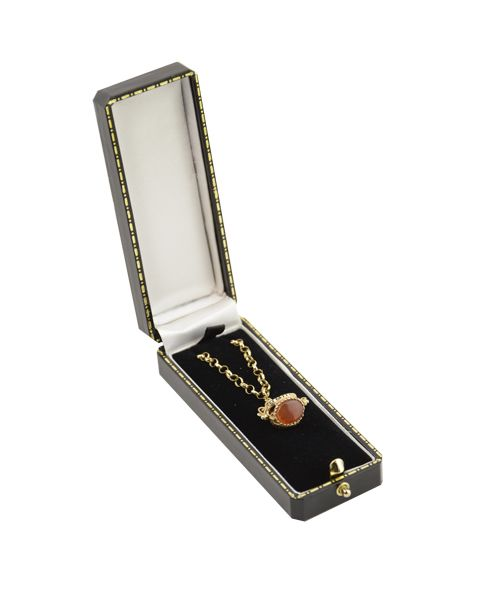 Antique Style Slim Pendant Box from £2.75 each (AQ-6)
