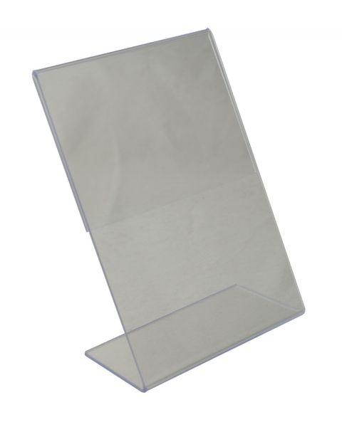 Acrylic Sign Holder Slant back 90x142mm (BD-1217)