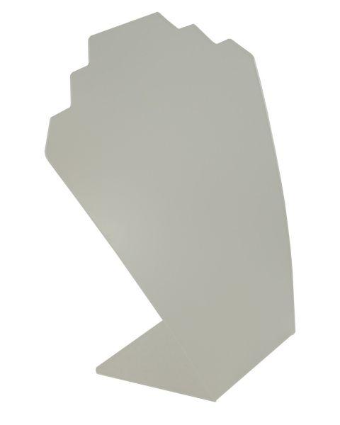 Frosted Acrylic Slim Bust 4 Notch (BD-1601)