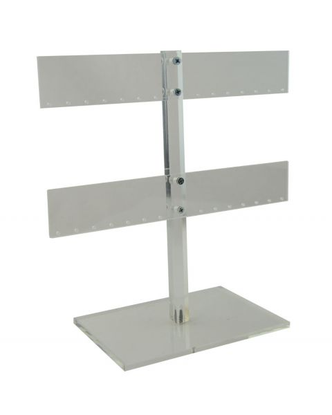 14 Pair Acrylic Earring Tree Display Stand - BD1609