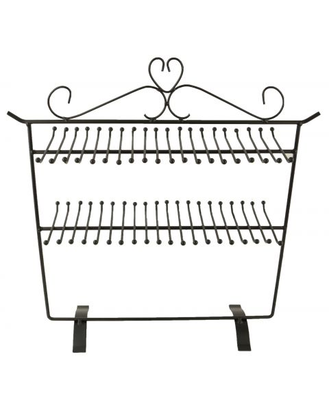 80 Hook Metal Necklace/Chain/Bracelet Display- BD261-235 - from £13.15