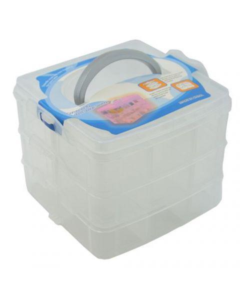 3 Layer Plastic Organizer (BD8330)