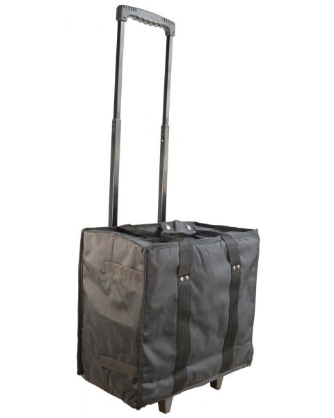 Collapsible Trolley Carring Case with 11 Trays - BD91-4b