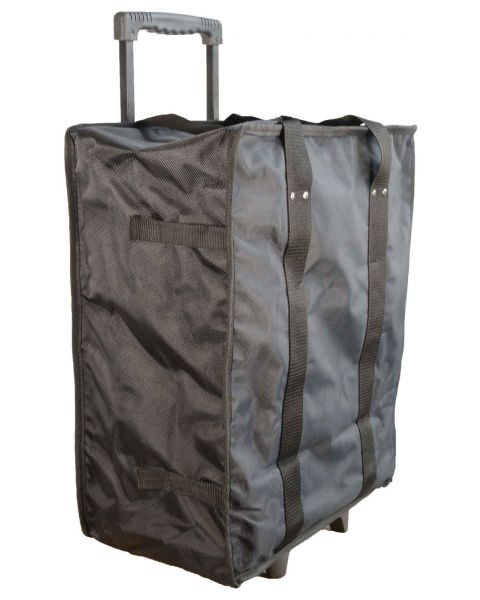 Collapsible Trolley Carring Case with 17 Trays - BD91-4A
