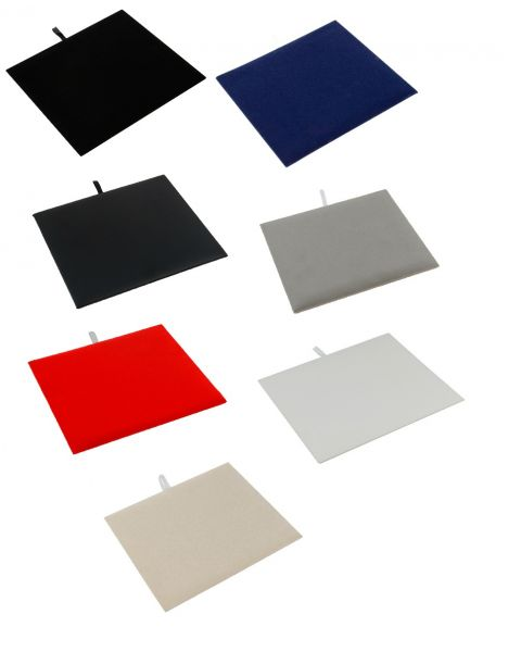 Leatherette & Velvet Display Pads for our half size Trays & Boxes - Colour Choice