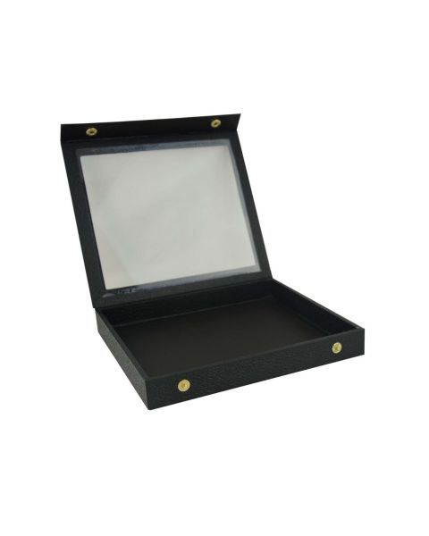 Half Size Display Tray Case snap close Acrylic lid - BD84-1D