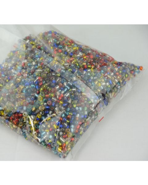 Glass Rondelle Seed Beads - 450g packs (45564-168)