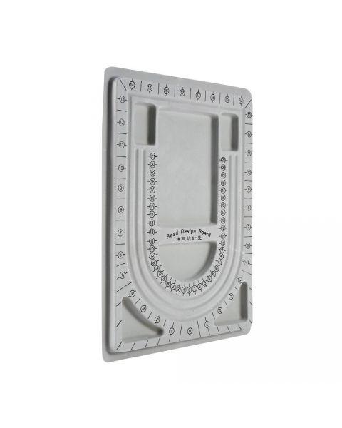 Bead Board Necklace Beading Jewelry Organiser Tray Design DIY Craft Tool