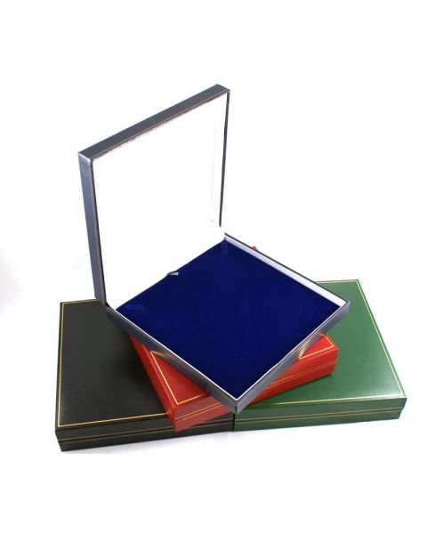 Classic Leatherette Large Necklace /Collarette Box from £4.30 each