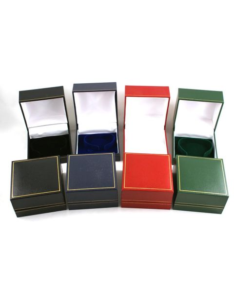 Classic Leatherette Watch / Bangle Box (c-clip) - From £2.09 each