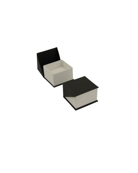 72 x Black / White Condado Series Ring Box