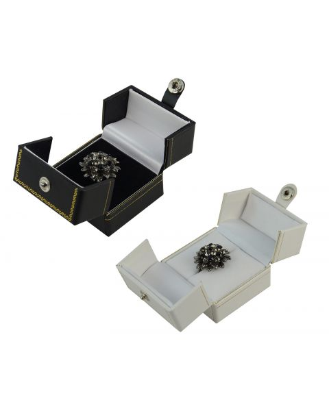 Double Door Button Ring Box from £2.10 each (BDR3)