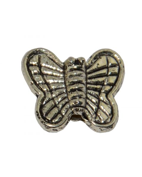 Pack of 20 Butterfly Spacer/Metal Bead (2-14)