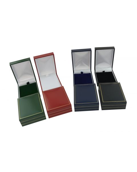 Classic Leatherette Pendant / Drop Earring Box from 99p each